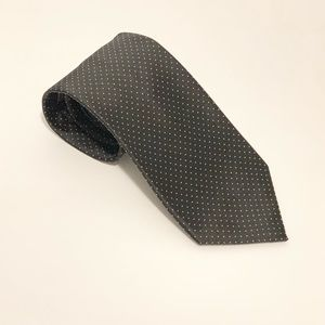 Jos A. Bank tie Black polka dotted